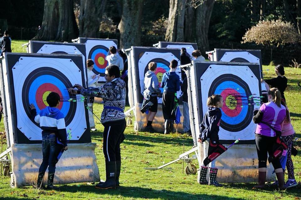 Youth archery at AAC
